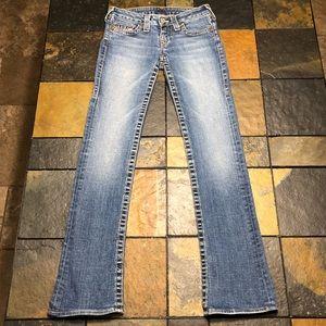 NICE! True Religion Jeans women's size 25.